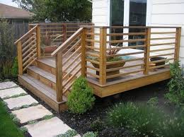 Patio Decking Designs by Nice Concept And Design Of Horizontal Deck Railing For Home