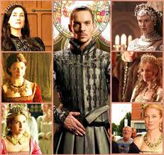 the tudors king henry with all six of his wives d h