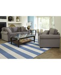 Living Room Furniture At Macy S Remo Ii Fabric Sofa Custom Colors Fabric Sofa Living Room