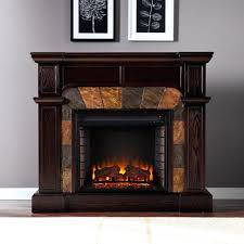 fireplace monochromatic cool electric fireplace design ideas
