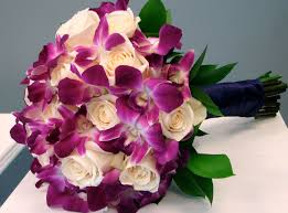 roses and orchids bridal bouquet flowers of the field las vegas