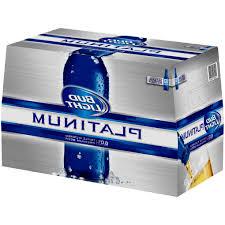 how much is a 18 pack of bud light platinum bud light platinum beer 18 pack 12 fl oz walmart com amazing 18