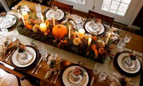 organic thanksgiving tablescape