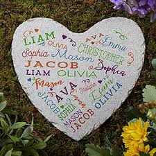 Garden Stone Craft - close to her heart personalized garden stone craft diys and