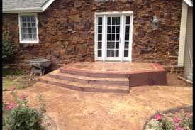 Decorative Concrete Patio Contractor Gallery For Before And After We Also Provide Stained Concrete