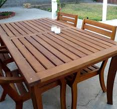 Teak Patio Table Teak Garden Furniture Popideas Co