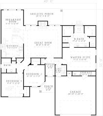 floor plans house 1 story house plans siex