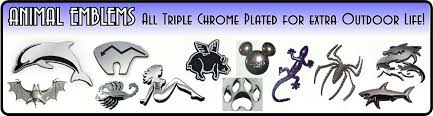 chrome auto emblems letters numbers u0026 more