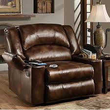 Oversized Reclining Chair Simmons The Boss Massage Recliner