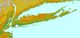 New York Relief Map by Bennington U0027s Research Into The Geology Of Long Island