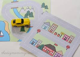 printable road maps make a mini road map busy bag free printable the diy mommy