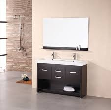 Single Sink Bathroom Vanity  Royal Teak Bombe Single - Elements 36 inch granite top single sink bathroom vanity