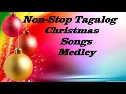 non stop tagalog christmas songs medley 2017 youtube