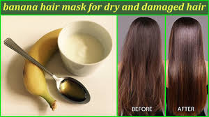 banana for hair banana hair mask for and damaged hair