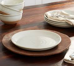 portland dinner plate set of 4 pottery barn