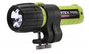 best helmet mounted light kinetics nitex pro eled rechargeable flashlight