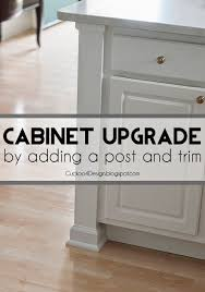 adding trim to cabinets adding a kitchen counter post cuckoo4design