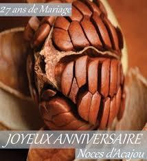 27 ans de mariage cartes anniversaire de mariage carte anniversaire de mariage