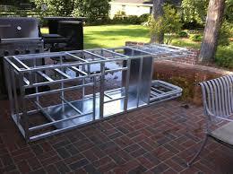 modular outdoor kitchen islands modular outdoor kitchen frames furniture