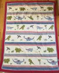 Pottery Barn Kids Twin Quilt Pottery Barn Kids Super Saurus Dinosaur Twin Quilt Bedding Blanket