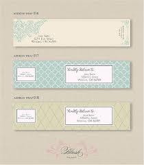 wedding invitation address labels address labels archives pittsburgh luxury wedding invitations