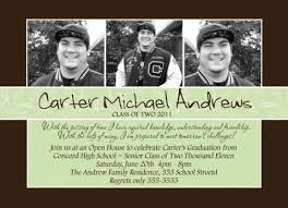 high school graduation invitation announcement