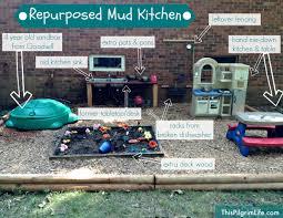 repurposed mud kitchen this pilgrim life