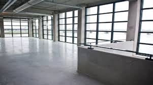 polished concrete as a correctional facility flooring option