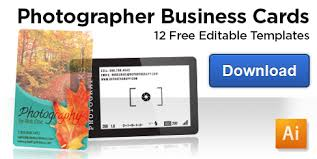 free business card templates for photographers are you using your creative business cards to their potential