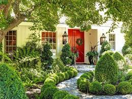 Green Homes Designs 35 Different Red Front Doors Many Designs U0026 Pictures