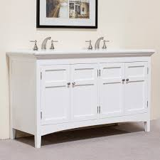84 Inch Double Sink Bathroom Vanity by 60 Bathroom Vanity With Double Sink Marble Top White 60 Inch