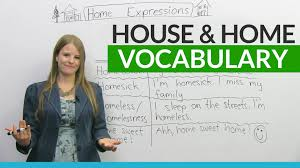 english vocabulary u0026 expressions with house and home youtube