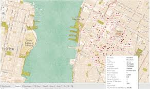 Chelsea Map Tableau Experiments U2014 Airbnb Nyc U2013 Datascape U2013 Medium