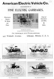 the history of the electric car department of energy