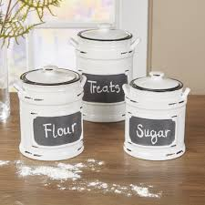 fresh rustic kitchen canister set taste