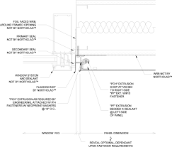 Window Sill Detail Cad Download Northclad Acm Series Details For Application Without
