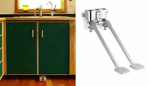 kitchen faucet foot pedal kitchen faucet foot pedal new efficient foot pedal faucet