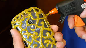 diy phone case life hacks glue craft youtube