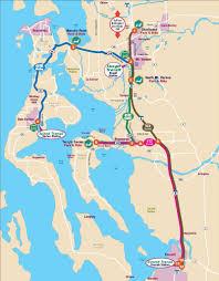 Washington Ferry Map Route 411c County Connector Camano Island Skagit Station