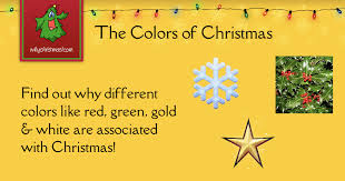 the colors of christmas christmas customs and traditions