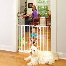 amazon com easy close gate white fits spaces between 28