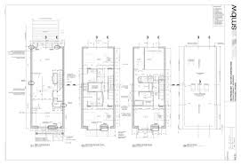 row home plans stunning row house 3d plan pictures ideas house design
