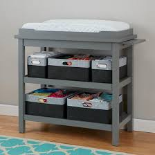 Changing Table Storage It Up Grey Changing Table