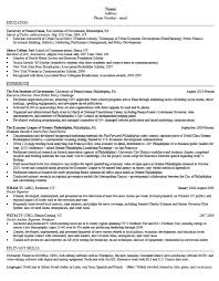 Sample Resume With Little Work Experience by Career Services At The University Of Pennsylvania