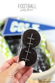football party favors easy oreo football party favors the celebration shoppe