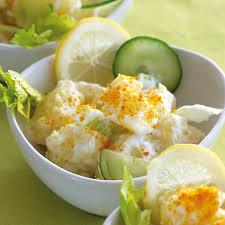 recette de cuisine a base de pomme de terre salade bretonne de pommes de terre dolwen cuisine plurielles fr