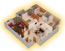 House Design Ideas Floor Plans 3d House Plans With Interior Photos U Shaped Floor Plan Using Only 3