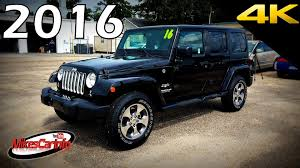 jeep sierra 2015 2016 jeep wrangler unlimited sahara ultimate in depth look in 4k