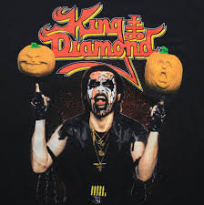 king diamond halloween concert shirt 1989 wyco vintage