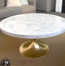 Diy Marble Coffee Table by Diy Faux Marble Coffee Table 100 Things 2 Do